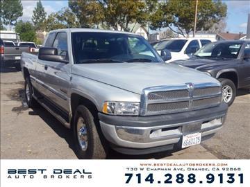 2001 Dodge Ram Pickup 2500 for sale in Orange, CA