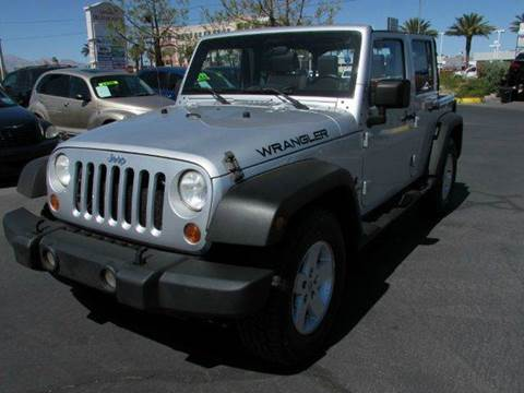 2007 Jeep Wrangler Unlimited for sale in Las Vegas, NV
