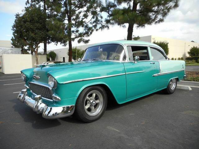 1955 Chevrolet Bel Air Post