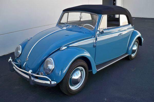 1961 Volkswagen Beetle Convertible