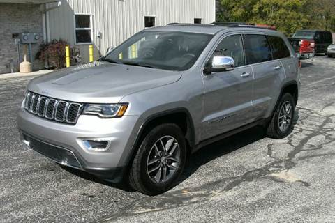 2017 Jeep Grand Cherokee for sale in Middlebury, IN