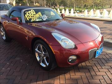 2009 Pontiac Solstice for sale in Mcallen, TX