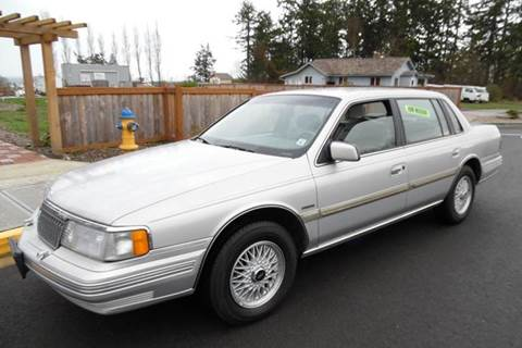 1990 Lincoln Continental for sale in Port Townsend, WA