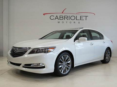 2016 Acura RLX for sale in Morrisville, NC