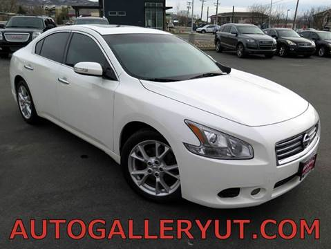 2012 Nissan Maxima for sale in Woods Cross, UT