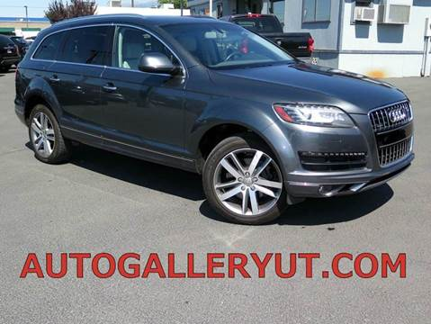 2012 Audi Q7 for sale in Woods Cross, UT