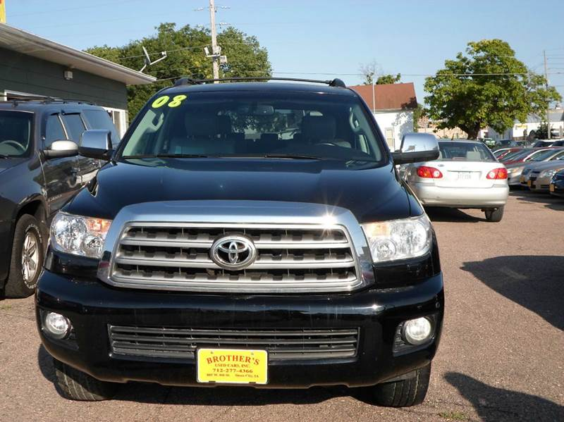 2008 toyota sequoia 4x4 platinum 4dr suv in sioux city ia. Black Bedroom Furniture Sets. Home Design Ideas
