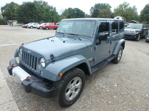 2015 Jeep Wrangler Unlimited for sale in Des Moines, IA