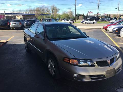 2002 Pontiac Bonneville for sale in Warren, MI