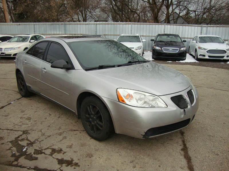 2005 Pontiac G6 car for sale in Detroit