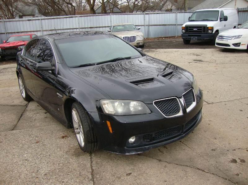 2008 Pontiac G8 car for sale in Detroit
