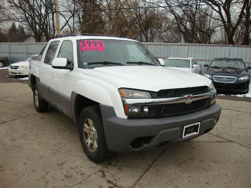 2002 Chevrolet Avalanche car for sale in Detroit