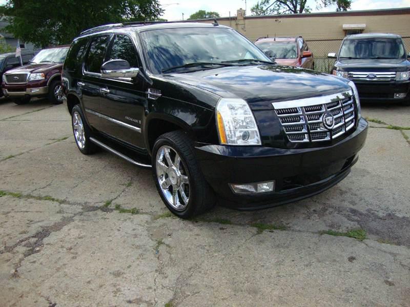 2008 Cadillac Escalade car for sale in Detroit