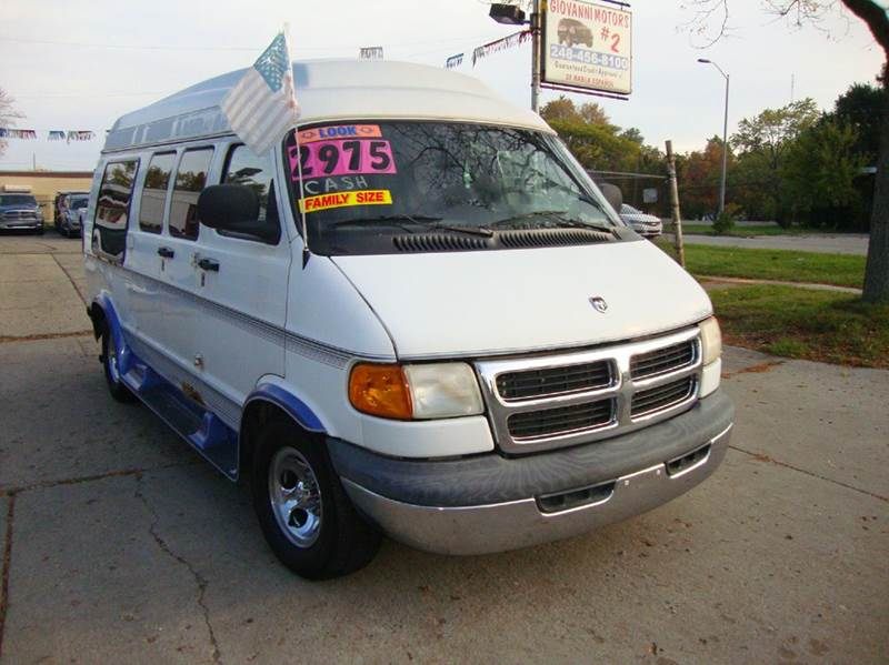 1999 Dodge Ram Van car for sale in Detroit