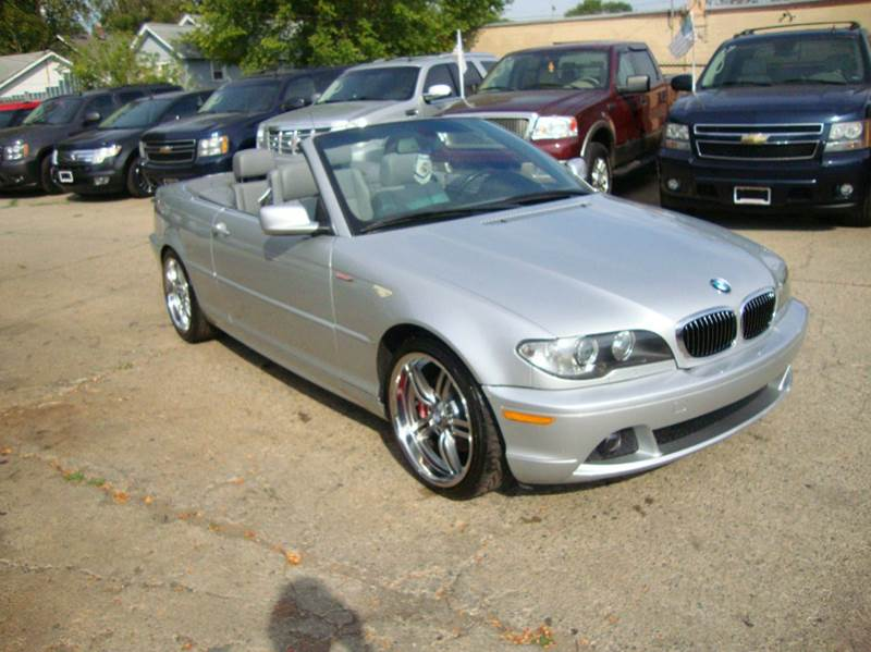 Bmw Series Ci Dr Convertible In Pontiac MI Giovanni - 2006 bmw 325ci convertible