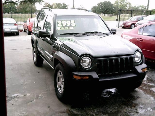 2003 Jeep Liberty Sport 4dr SUV   Houston TX