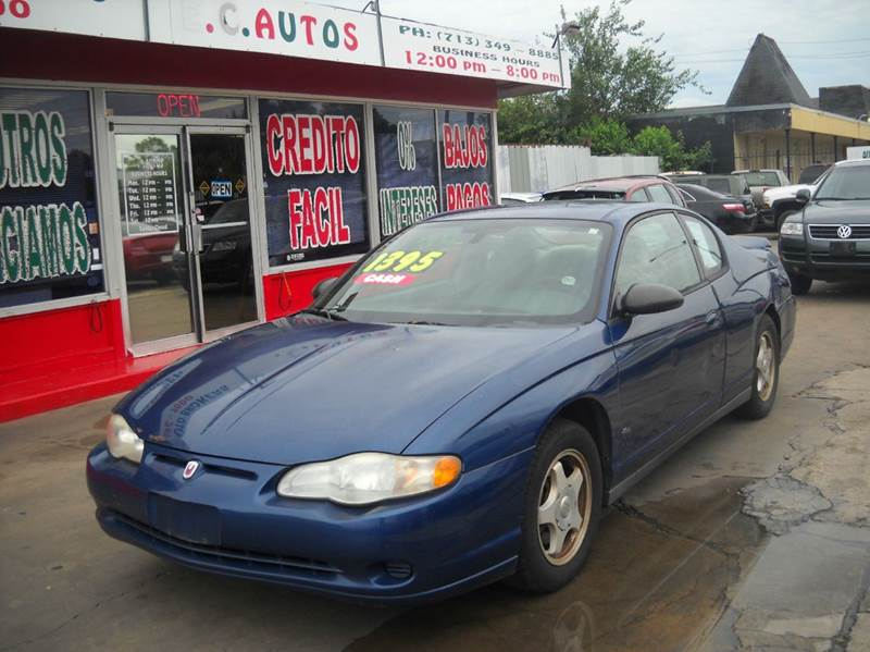 2005 Chevrolet Monte Carlo LS 2dr Coupe   Houston TX