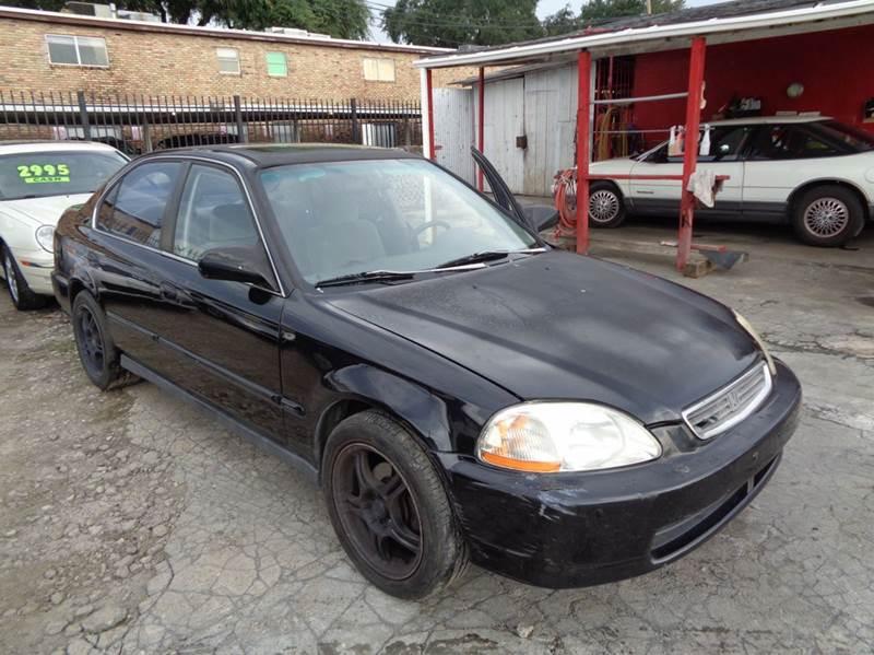 1998 Honda Civic EX 4dr Sedan   Houston TX
