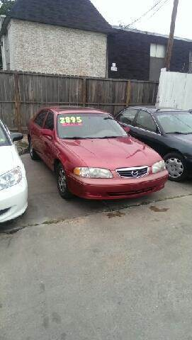 2000 Mazda 626 LX 4dr Sedan   Houston TX