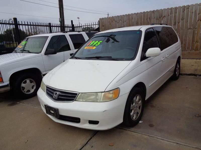2004 Honda Odyssey EX L W/DVD 4dr Mini Van And Leather   Houston TX
