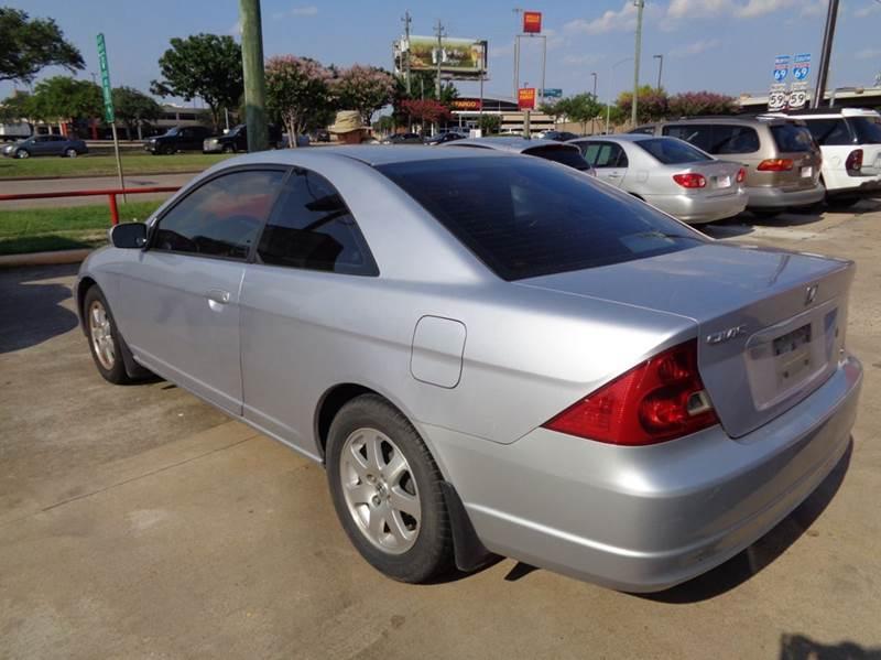 2003 Honda Civic EX 2dr Coupe   Houston TX