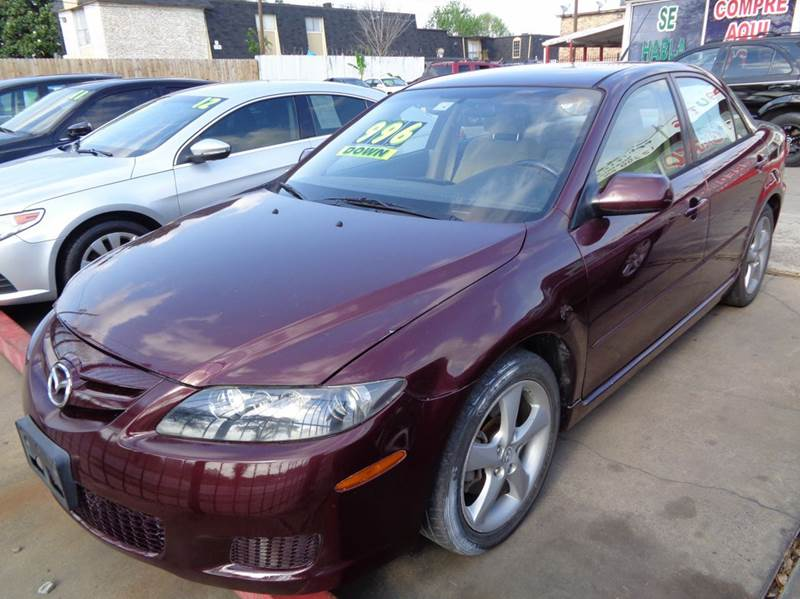 2008 Mazda Mazda6 I Grand Touring 4dr Sedan In Houston Tx Chimney