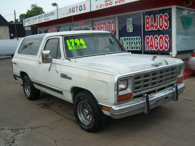 1974 Ramcharger For Sale Craigslist >> Used 1985 Dodge RamCharger for sale. | White 1985 Dodge Ramcharger SUV ...