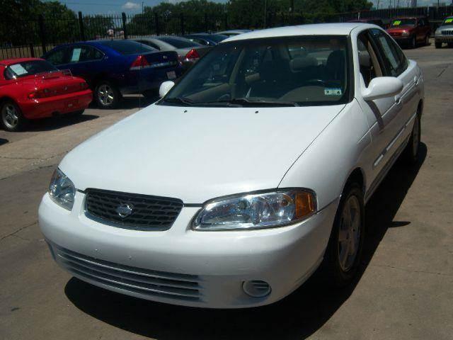 2000 Nissan Sentra GXE 4dr Sedan   Houston TX