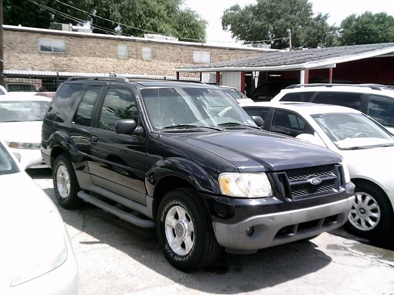 2001 ford explorer sport 2wd 2dr suv in houston tx. Black Bedroom Furniture Sets. Home Design Ideas