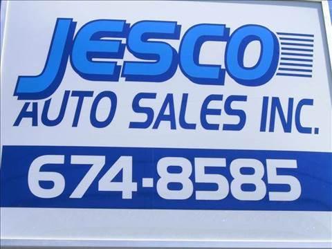 2012 JESCO AUTO SALES