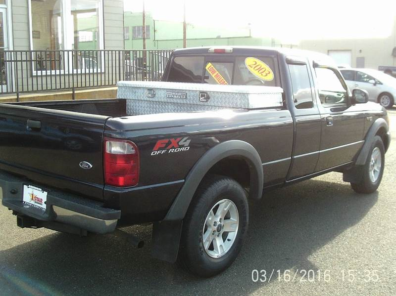 2003 ford ranger 4dr supercab xlt 4wd sb in aberdeen wa for Five star motors aberdeen