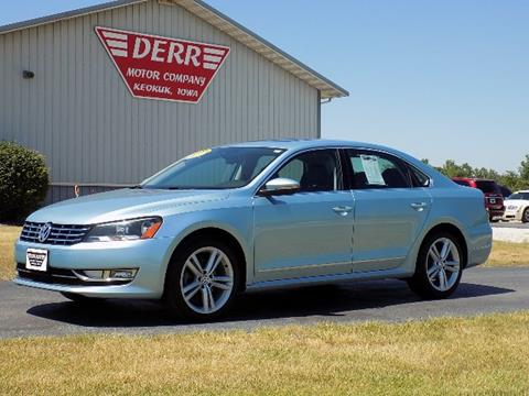 2012 Volkswagen Passat for sale in Keokuk, IA