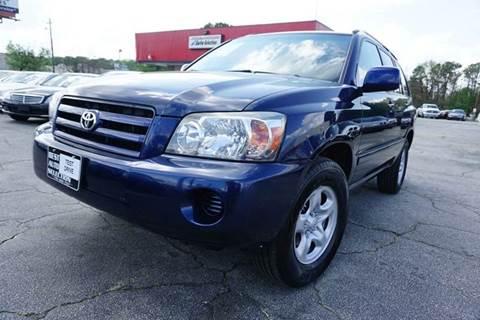 2005 Toyota Highlander for sale in Stone Mountain, GA