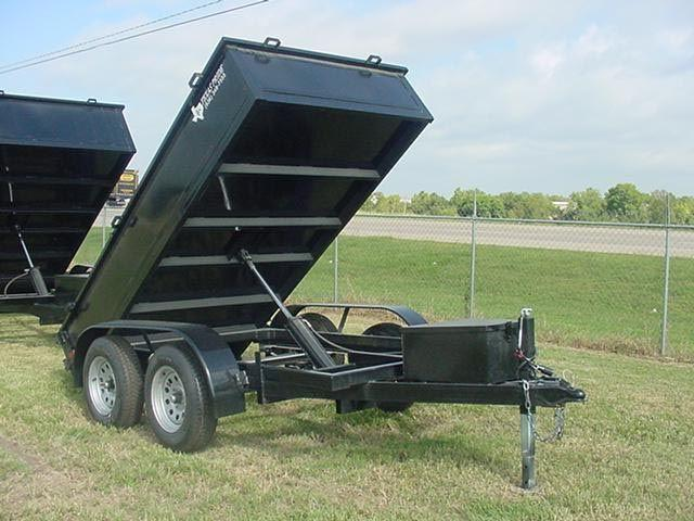2015 TEXAS PRIDE 5ft. by 10ft. DUMP TRAILER
