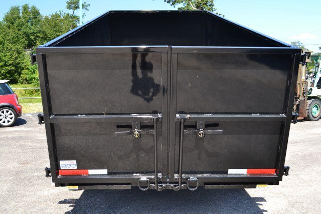 2014 TEXAS PRIDE 7' by 16' DUMP TRAILER  - CONROE TX