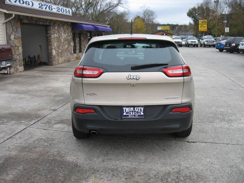 2014 jeep cherokee sport 4dr suv in ellijay ga twin city motors. Cars Review. Best American Auto & Cars Review