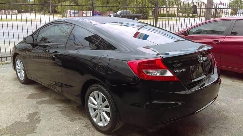 2012 Honda Civic EX 2dr Coupe 5A - San Antonio TX