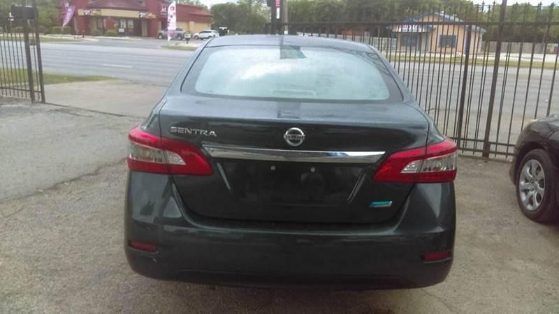 2014 Nissan Sentra S 4dr Sedan CVT - San Antonio TX