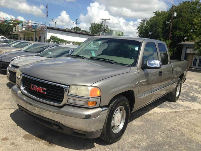 2001 gmc sierra 1500 4dr extended cab sl 2wd sb in san antonio tx buy rite auto sales. Black Bedroom Furniture Sets. Home Design Ideas
