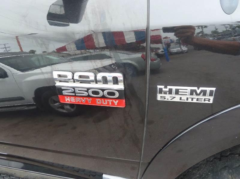 2011 RAM Ram Pickup 2500 4x4 Laramie 4dr Crew Cab 6.3 ft. SB Pickup - Oceanside CA