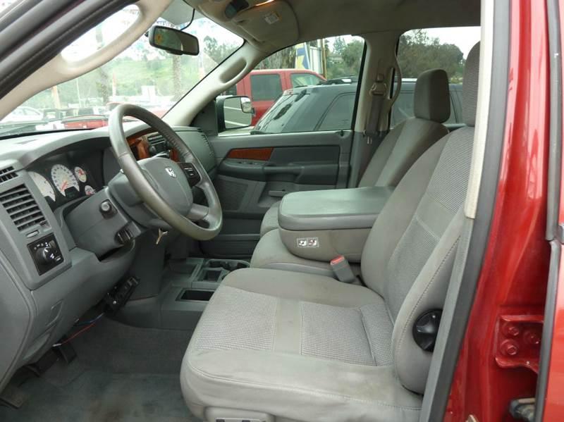 2006 Dodge Ram Pickup 2500 SLT 4dr Mega Cab 4WD SB - Oceanside CA