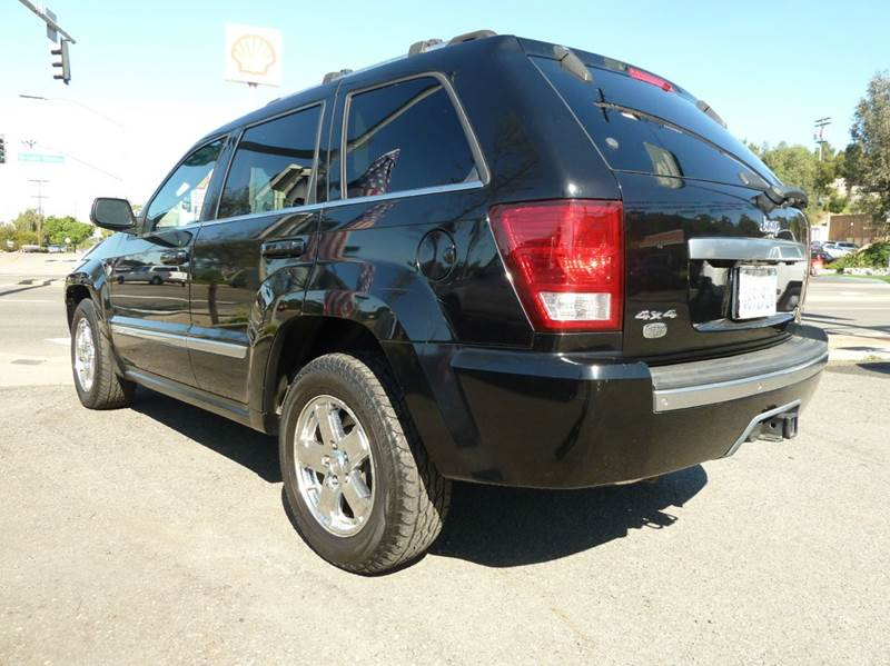 2007 Jeep Grand Cherokee 4x4 Overland 4dr Crossover - Oceanside CA