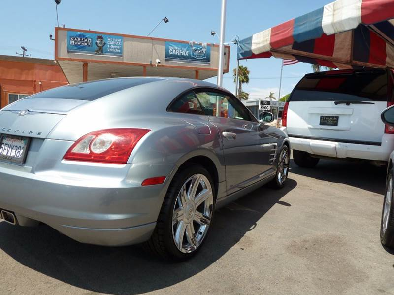 2004 Chrysler Crossfire 2dr Sports Coupe - Oceanside CA
