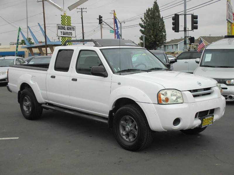 2004 nissan frontier xe v6 4dr crew cab rwd lb in whittier ca valley view motors. Black Bedroom Furniture Sets. Home Design Ideas