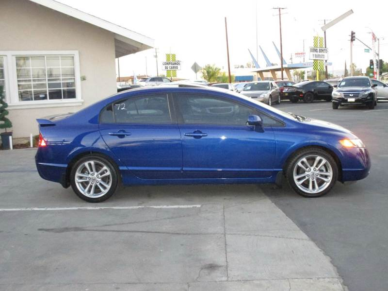2007 honda civic si 4dr sedan in whittier ca valley view. Black Bedroom Furniture Sets. Home Design Ideas