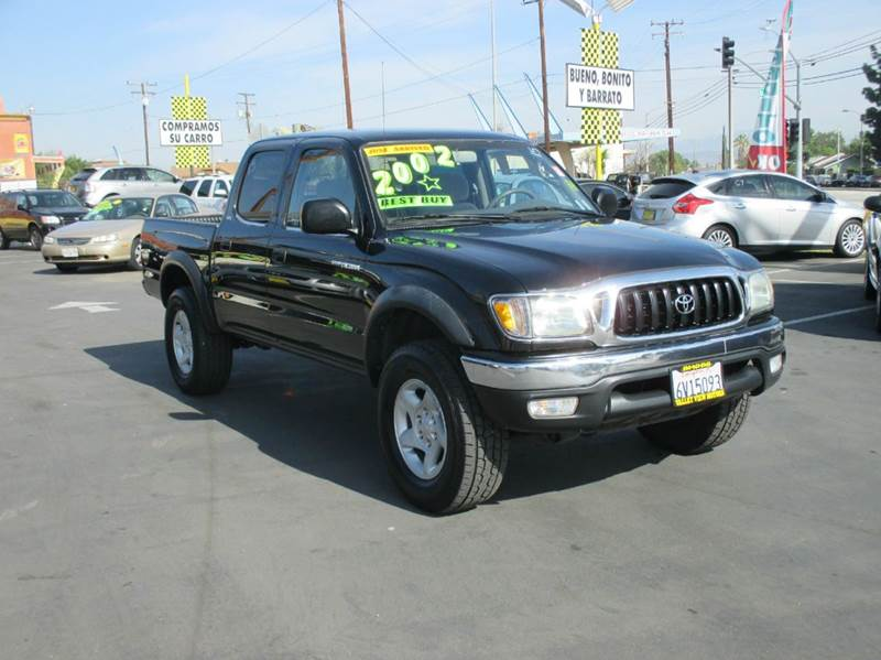 2002 toyota tacoma 4dr double cab prerunner v6 2wd sb in for Valley view motors whittier ca