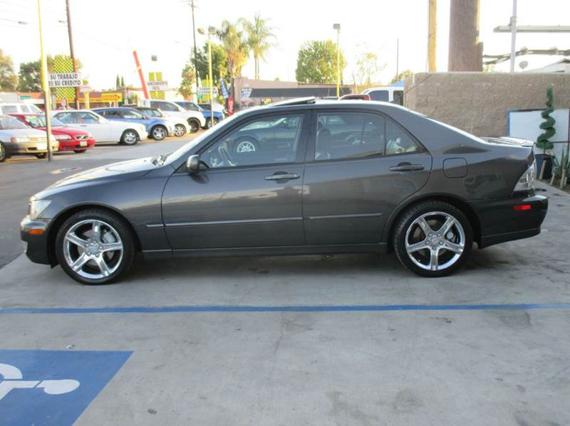 2004 lexus is 300 base 4dr sedan in whittier ca valley for Valley view motors whittier ca
