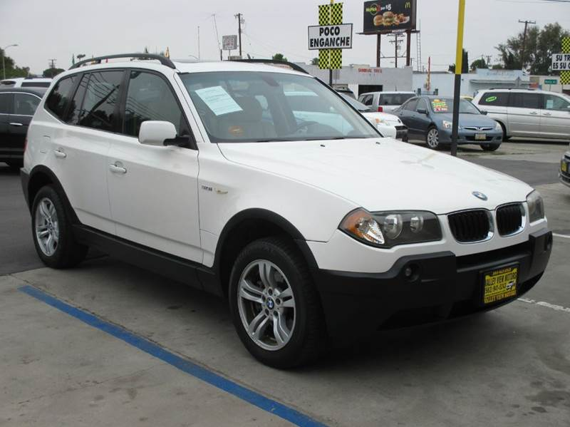 2004 bmw x3 awd 4dr suv in whittier ca valley view for Valley view motors whittier ca