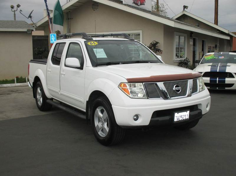 2005 nissan frontier le 4dr crew cab rwd sb in whittier ca for Valley view motors whittier ca
