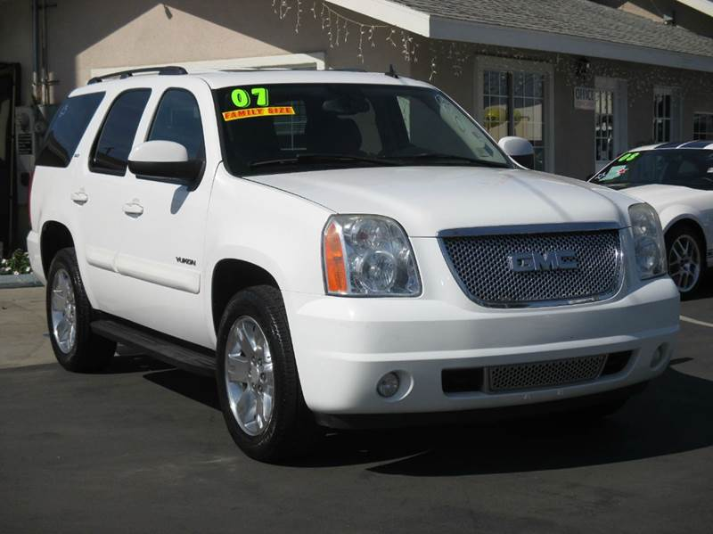 2007 gmc yukon slt 4dr suv w 4sa in whittier ca valley for Valley view motors whittier ca
